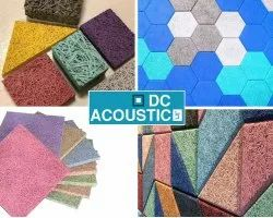 wood wool acoustic panel