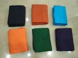 Cotton Pochampally Ikat Plain Fabric, Plain/Solids, Multicolour