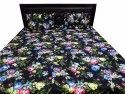 Screen Print Quilted Bed Comferter With Two Pillow