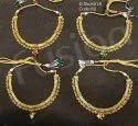 Fusion Arts Antique Polki Meenakari Necklace Set