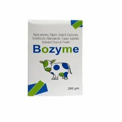 Bozyme For Froth, Bloat, Indigestion Powder 200gm, Grade Standard: Feed Grade, Packaging Type: With Mono Caton