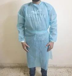 Disposable Isolation Gown, For Hospital, Size: Free