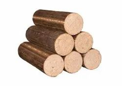 90mm Bio Coal Briquettes, For Boiler, Cylindrical