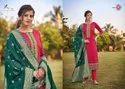 Triple AAA Kasturi Vol 5 Jam Silk With Work Dress Material Catalog