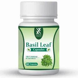 Xovak Pharma Boost Energy Ayurvedic Herbal Basil Leaf Capsule, Grade Standard: Medicine Grade, Packaging Type: Bottle