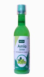 Seya 500 Ml Amla Juice, Packaging Type: Bottle, Liquid