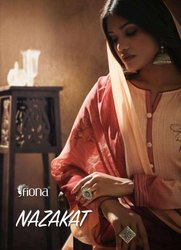 Fiona Nazakat Jam Silk With Hand Work Designer Salwar Suit Catalog
