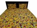 Bird Print Quilted Bed Comferter