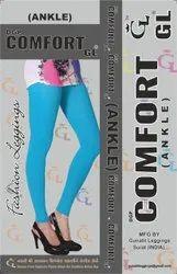 Plain Dgp Comfort GL Ladies Stretchable Leggings