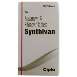 Atazavinir And Ritonavir Synthevan Tablets Cipla, Prescription, Treatment: Hiv Treatment