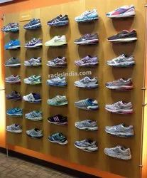 Display Wall for Sport Shoes