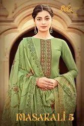 Bela Fashion Masakali Vol 5 Cotton Silk Designer Salwar Suit Catalog