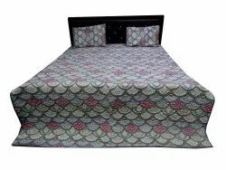 Block Print Quilted Bed Comferter