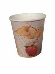 Disposable Printed Paper Juice Glass, For Event, Parties, Capacity: 210 Ml