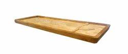 Rectangular Wooden Ayurvedic Massage Bed