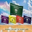 Fabric Flying Banner Flag, Shape: Rectangular