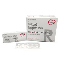 Voglibose + Repaglinide tablet