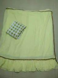 Dhani Designer Saree, With blouse piece, 5.5 m (separate blouse piece)