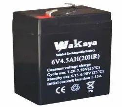 wakaya 6v 4.5ah battery