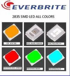 Smd 2835 Everbrite 9v 100ma Amber 1w