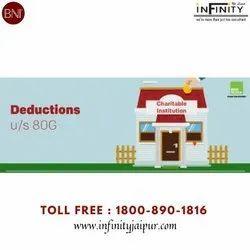 Tax Detection U/S 80g, In Pan India, Individual