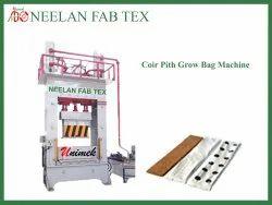 Coir Press Grow Bag Machine