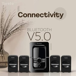 Toreto Tango + 4.1 Multimedia Home Theater 90W S Volume and Bass Control (Tor-353)