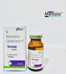 Mephentermine Sulphate Injection, Medizia Biotech, 10ml Vail