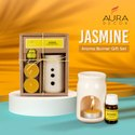 Aroma Gift Set With 1 Tealight & 10 Ml Aroma Oil