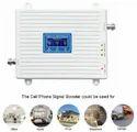 Tri Band 2G 3G 4G Mobile Network Range Extender Amplifier Full Kit 1500 sq. feet - White