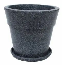 Gray Jaguar Maxxi Pot With Tray