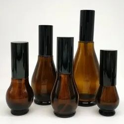 10ml 20ml 30ml 50ml 100ml Pear-Shaped Glass Bottle Atomizer. Perfume, Facial Water Container
