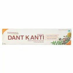 Patanjali Dant Kanti Toothpaste, Packaging Size: 100 Gm