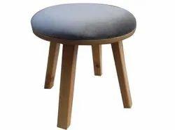 Candor Furniture Weight: 4 Kg Round Wooden Chair