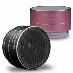 Black,Pink Zebronics Noble Plus Bluetooth Speaker