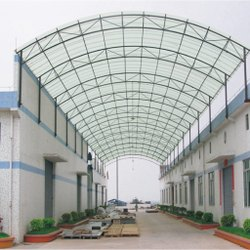 Panel Build Polycarbonate Building Shed