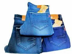 Regular Bottom Mens Denim Jeans, Waist Size: 32