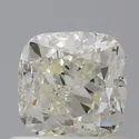Cushion 0.90ct K VS2 IGI Certified Natural Diamond