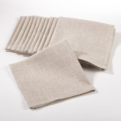 Plain Cotton Table Napkin, Hand Wash, Size: 8x8 Inch