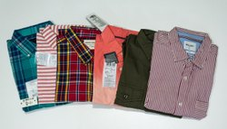Mix Brand Collar Neck Mens Cotton Shirts, Handwash