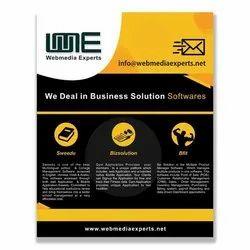 Based On Package Paper Flyer Design - WebMedia Experts
