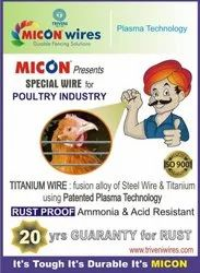 Titanium Wire for Poultry Industry