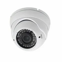 Day & Night Vision Focus Dome CCTV Camera, For Security, CMOS
