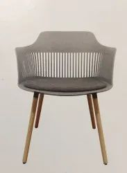 Moulded Cafeteria Chair - Toxy Wood