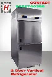 SS 2 Door Refrigerator