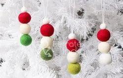 Fashionable Christmas Felt Ornament
