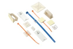 FLU-CON Self Adhesive Tie Mounts