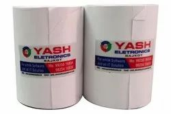 Yash Electronics Plain 3 Inch Thermal Paper Roll