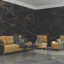 Marble Slab Porcelain Tiles, For Flooring, Size: Large