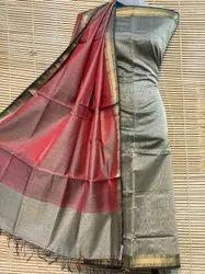 Pawar Handloom Silk Cotton Maheshwari Top And Dupatta Sets